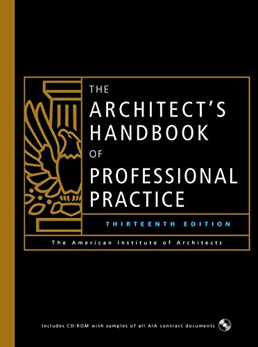 9780471419693: The Architect's Handbook of Professional Practice, 13th Ed.