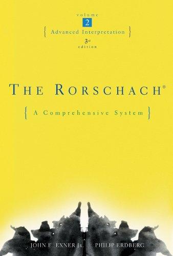 9780471419839: The Rorschach: Advanced Interpretation, Vol. 2