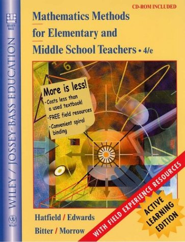 Mathematics Methods for Elementary and Middle School: Mary M. Hatfield,