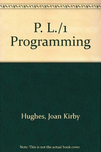 P. L./1 Programming: Hughes, Joan Kirby