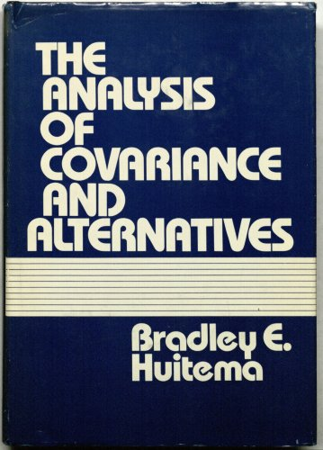 9780471420446: The Analysis of Covariance and Alternatives