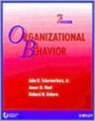 9780471420637: University of Phoenix Organizational Behavior 7e