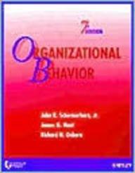 9780471420637: Organizational Behavior - 2002 publication