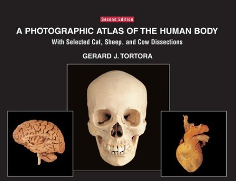 9780471420644: A Photographic Atlas of the Human Body: With Selected Cat, Sheep, and Cow Dissections