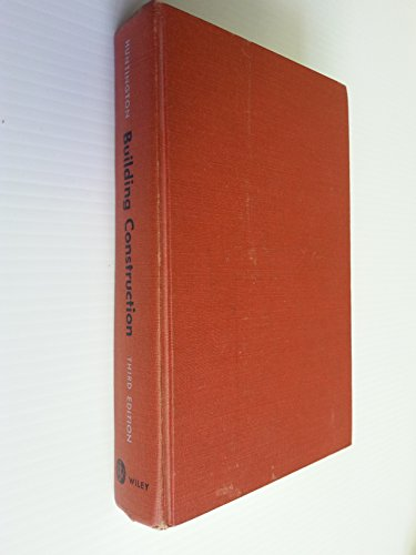 9780471422099: Building Construction: Materials and Types of Construction