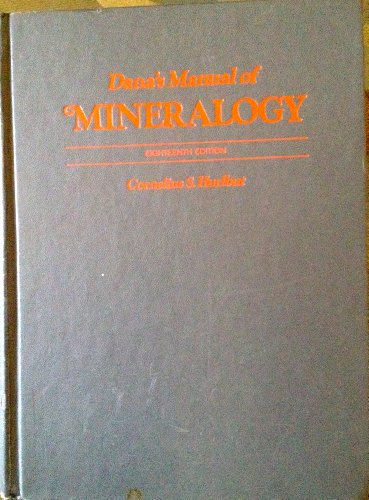 9780471422259: Manual of Mineralogy
