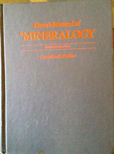 9780471422259: Dana's Manual of Mineralogy