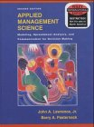 9780471427742: Applied Management Science: A Computer-integrated Approach for Decision Making