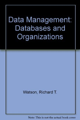 9780471428510: Data Management: Databases and Organizations