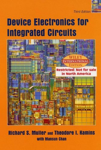 9780471428770: Device Electronics for Integrated Circuits