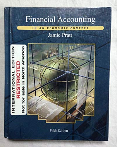 9780471428787: Financial Accounting in an Economic Context