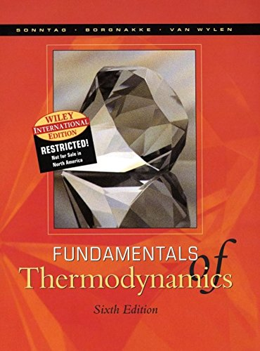 9780471428831: Fundamentals of Thermodynamics