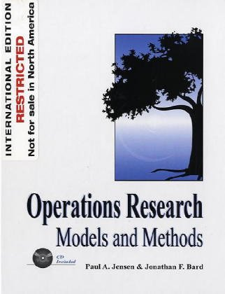 9780471428961: Introduction to Operations Research