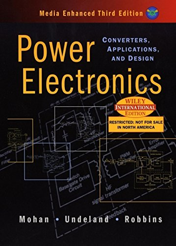 9780471429081: Power Electronics ; Converters Applications and Design THIRD EDITION INTERNATIONAL EDITION INCLUDES