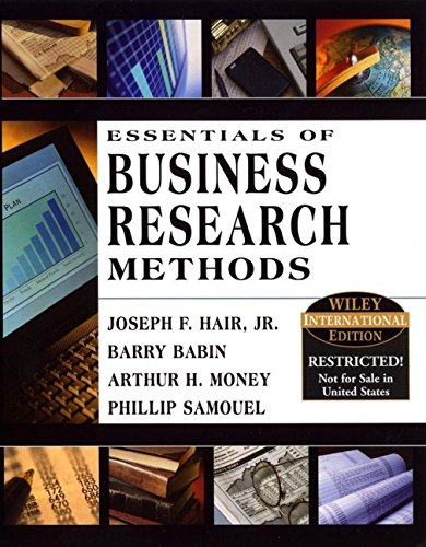 9780471429258: Essentials of Business Research
