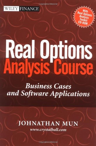 9780471430018: Real Options Analysis Course : Business Cases and Software Applications (Book and CD ROM)