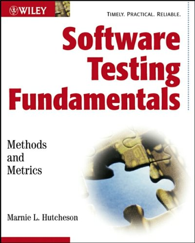 9780471430209: Software Testing Fundamentals: Methods and Metrics