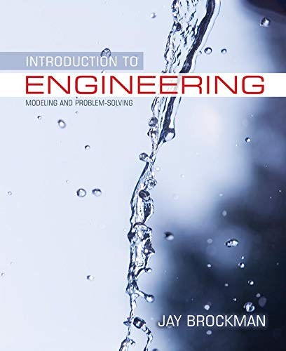 9780471431602: Introduction to Engineering: Modeling and Problem Solving