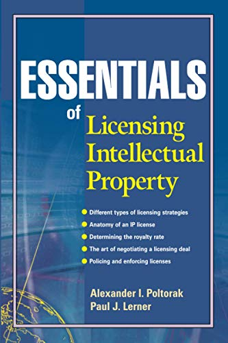 9780471432333: Essentials of Licensing Intellectual Property