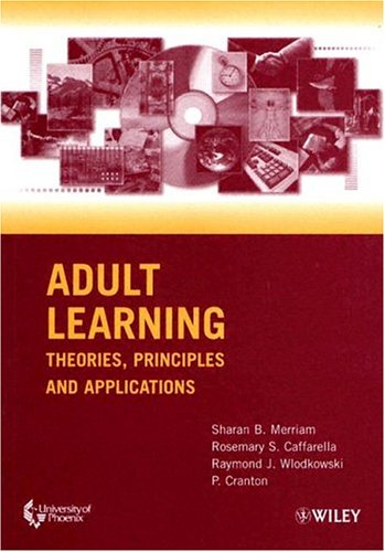 9780471432982: Adult Learning: Theories, Principles and Applications