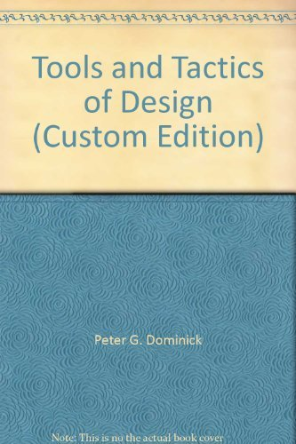 9780471433002: Tools and Tactics of Design (Custom Edition)