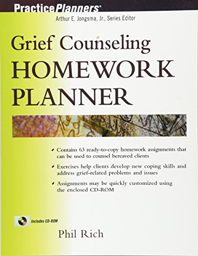 9780471433187: Grief Counseling Homework Planner