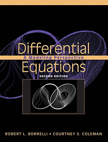 9780471433323: Differential Equations: A Modeling Perspective