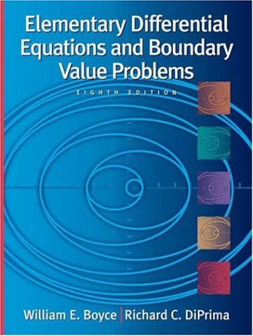 9780471433385: Elementary Differential Equations and Boundary Value Problems , 8th Edition, with ODE Architect CD