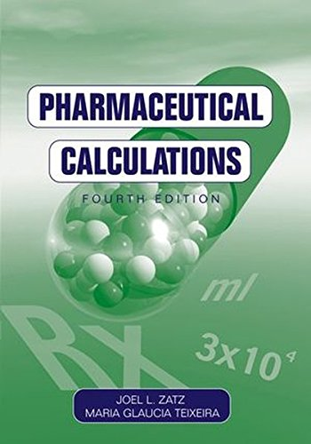 9780471433538: Pharmaceutical Calculations