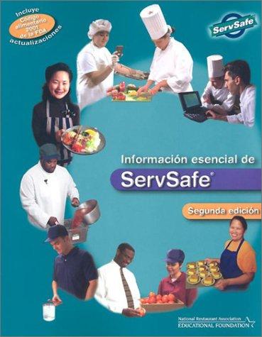 9780471433811: ServSafe Essentials in Spanish w/Scantron Certification Exam, Second Edition