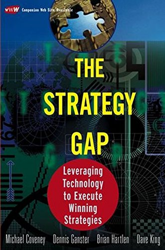 9780471434245: The Strategy Gap: Leveraging Information Technology to Create and Execute Winning Strategies