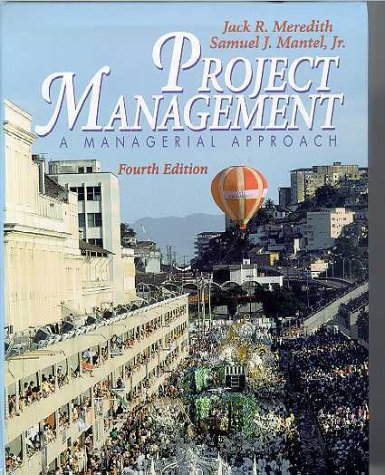 9780471434627: Project Management: A Managerial Approach, 4th Edition with Microsoft(r) Project 00