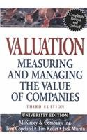 9780471435051: Valuation, Textbook and Workbook: Measuring and Managing the Value of Companies