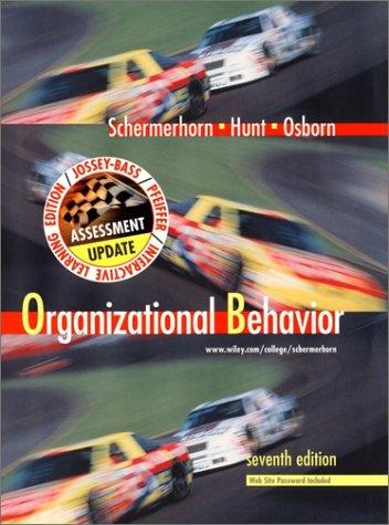 9780471435716: Organizational Behavior (Wiley Series in Management)