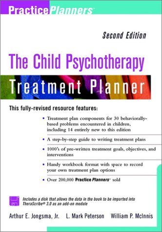 9780471436096: Child Psychotherapy Treatment Planner