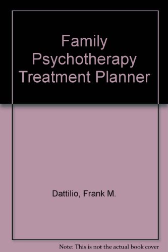 9780471436201: Family Psychotherapy Treatment Planner