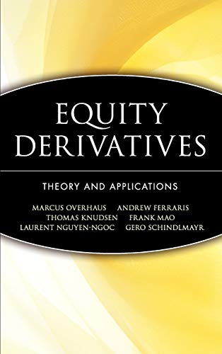 9780471436461: Equity Derivatives: Theory and Applications
