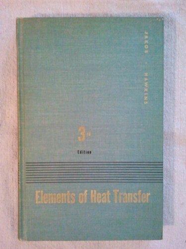 9780471437253: Elements of Heat Transfer