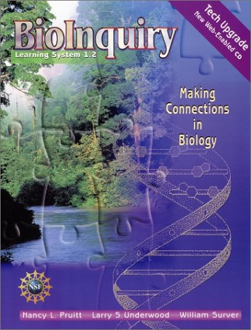 9780471438113: BioInquiry Learning System 1.2: Making Connections in Biology