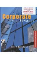 Corporate Finance 2nd Edition with Business Extra Password Card Set (0471439819) by Damodaran, Aswath