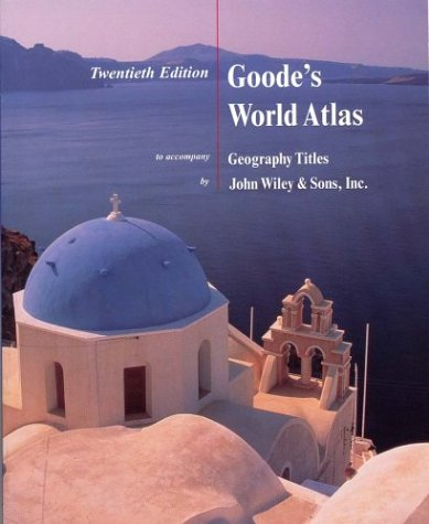 9780471441052: Goode's World Atlas to Accompany Geography Titles, 20th edition