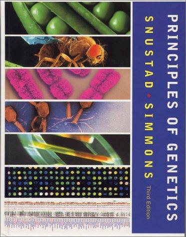 9780471441809: Principles of Genetics