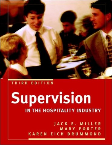 9780471442349: Supervision in the Hospitality Industry, Third Edition and NRAEF Workbook Package