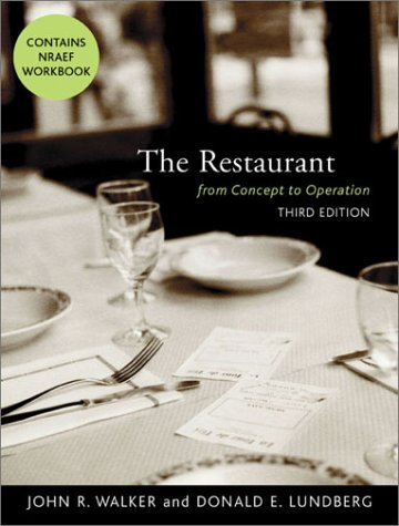 9780471442462: The Restaurant: From Concept to Operation, Third Edition and NRAEF Workbook Package