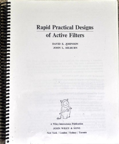 Rapid, Practical Designs of Active Filters