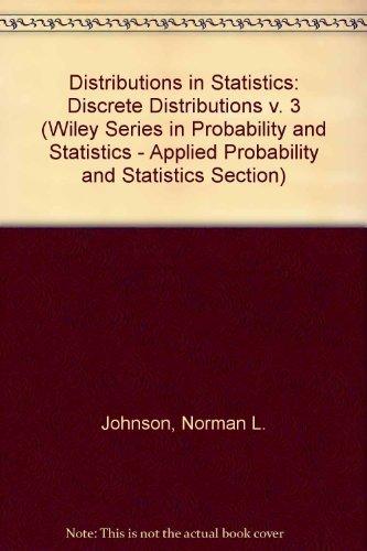 9780471443605: Discrete Distributions-Distributions in Statistics