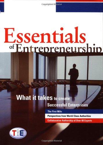 9780471444534: Essentials of Entrepreneurship: What It Takes to Create Successful Enterprises