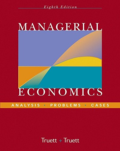 9780471444664: Managerial Economics: Analysis, Problems, Cases