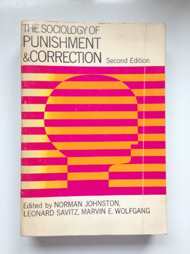 9780471446347: Sociology of Punishment and Correction