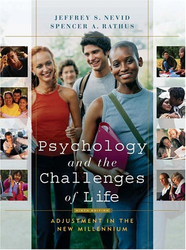 9780471446934: Psychology and the Challenges of Life: Adjustmentin the New Millennium